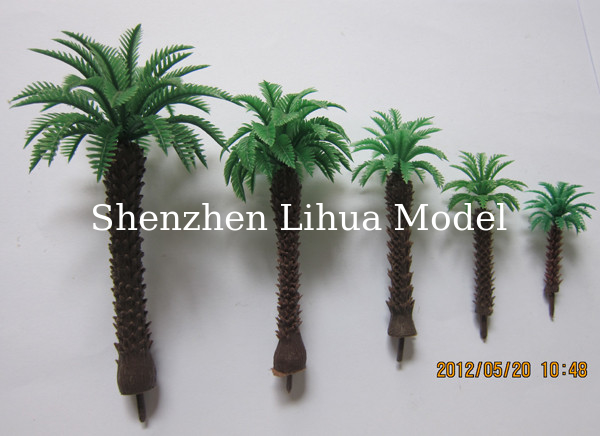 1:150mini coconut tree,model tree,artificial tree,architectural scale trees,miniature scale trees,model building trees