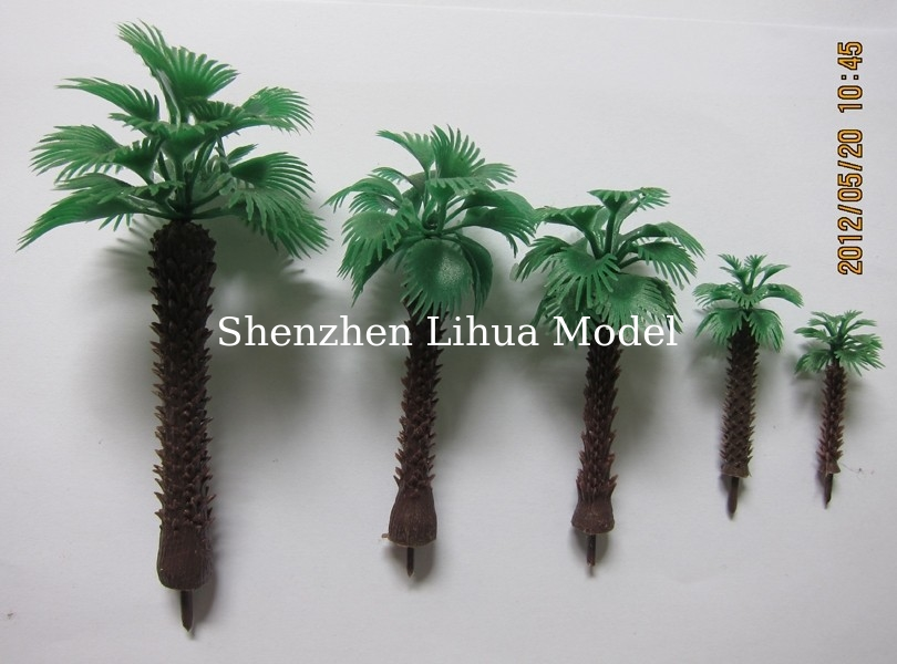 1:200 scale palm artificial trees,miniature scale palm tree,fake mini palm trees,model stuffs,palm trees