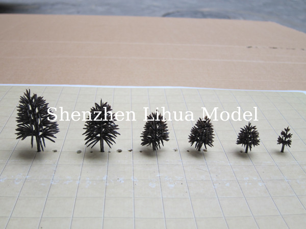 tree arms-model material,architectual model materials,fake trees,plastic tree truck