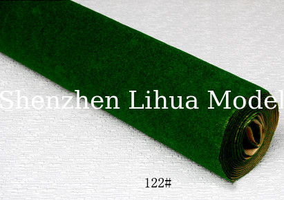 122#(dark green)grass mat,architectural model materials,landscape grass,model materials
