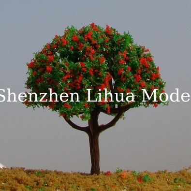 LH16 flower trees-=--model trees, miniature artifical trees, mode materials,fake trees