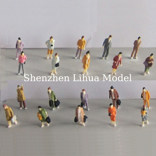 1:87 boutique standing figures----miniature figures,painted figure,color people,HO figures