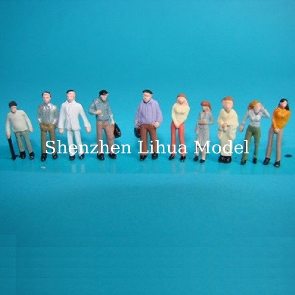 1:100 color normal figure---scale figure ,model figures, architectural model materials