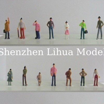 1:75 color normal figure,model figures,scale figure,architectural model people,ABS figures