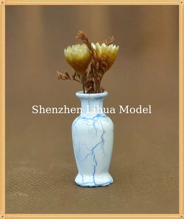 model flower vase-----model scale sculpture ,,ABS flower vases,G vase,doll decoration