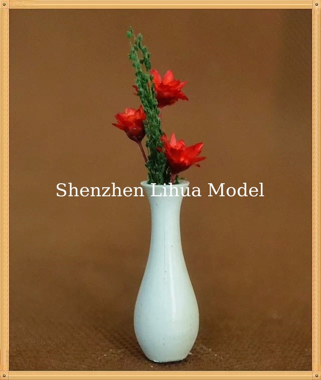 model flower vases---1:25model scale sculpture ,architectural model materials,ABS flower vases