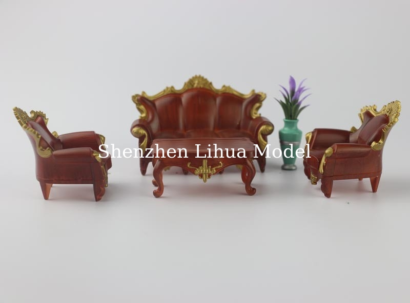 European model sofa--G scale model sofa,model furnitures,model stuffs,model accesories