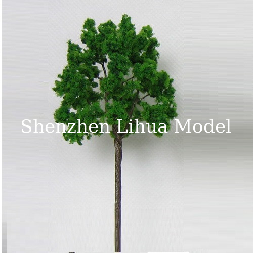 wire fake trees,model trees,miniature artificial trees,landscape trees,1:200fake trees