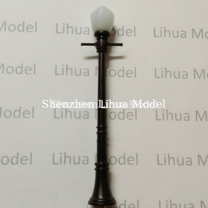 model lamppost,plastic yard lamppost, scale lamp, architectural model lamp,model materials,model accessories