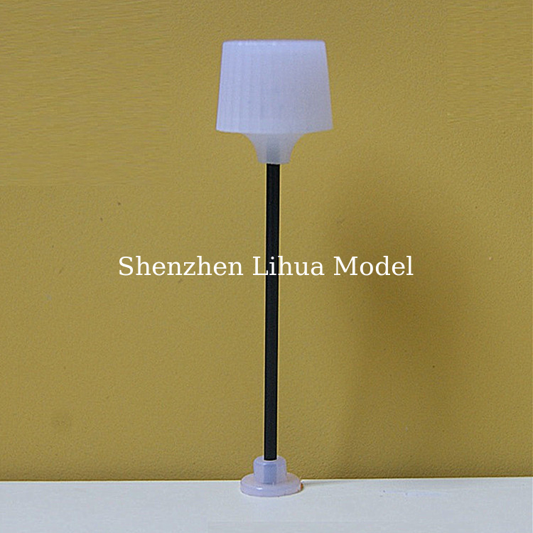 1:150 model  plastic lamppost, miniature model floor light,scale standard lamp,architectural model lamp 1:150