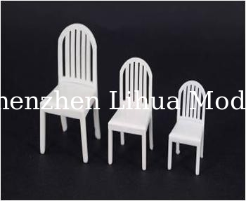 scale model fake chair--1:50scale model chair,model furnitures,architectural model materials
