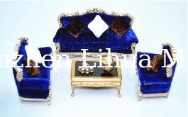 European style model sofa-European scale sofa,model furnitures,architectural model stuffs