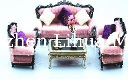 1:20European style model sofa-European scale sofa,model furniture,architectural model stuffs