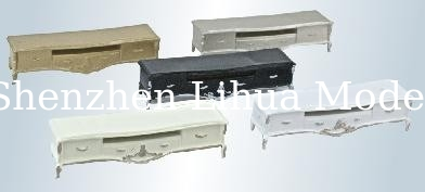 scale model TV bench--TV stand,TV cabinet-model furnitures,architectural model materials