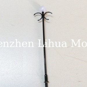 model building light 1:75,model scale lamp post,model accessories,1:150 model lamp pole,architectural model lights