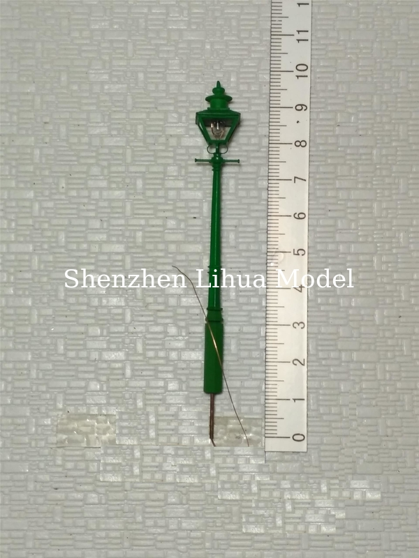 model metal street lamppost,1:150scale street lights,1:100architectural model lamp,model materials