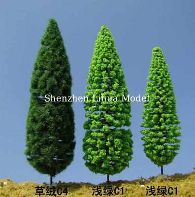 1:150 fake pine tree,model trees,miniature artifiical trees