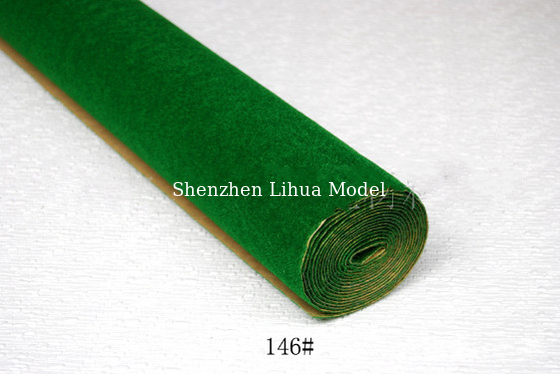China 146#(dark green) grass mat,architectural model materials,simulation turf,artificial grass mats,model stuffs distributor