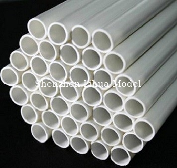 China 1.6mmABS round tub,model accessories,architectural model ABS round tube,ABS tubs,model stuffs distributor