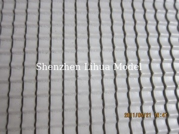China B style plastic tile,model material,architectural model accessories,model stuffs,plastic scale tile distributor