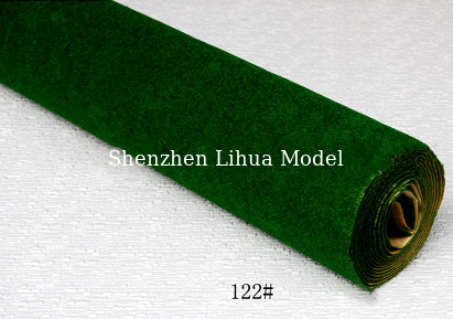 China 122#(dark green)grass mat,architectural model materials,landscape grass,model materials,model stuffs distributor