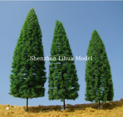 China 1:150 model pine trees ,model tree,miniature artificial trees,plastic trees,fake trees,model stuff distributor