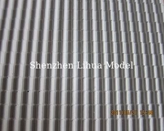 China A style plastic tile,architectural model tile,1:25 tile culture stone,ABS model tile,model stuff distributor