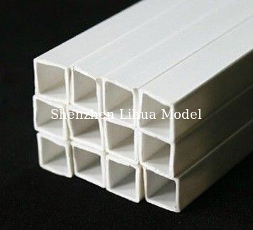 China 10mm ABS square tube,model materials,architectural model accessories,model stuff,model materials distributor