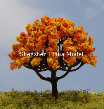 China miniature flower trees,model trees,artificial trees,mode materials,fake trees,model stuffs distributor