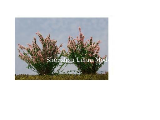 China flower tree----model trees,miniature artifical tree,architectural model materials factory