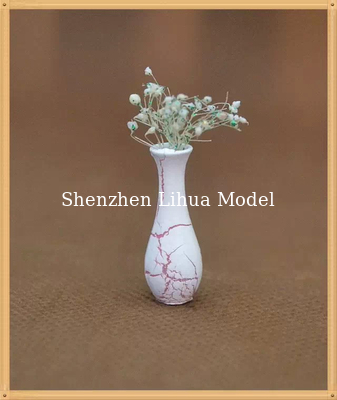China model flower vase-model scale sculpture ,architectural model materials,ABS flower vases factory