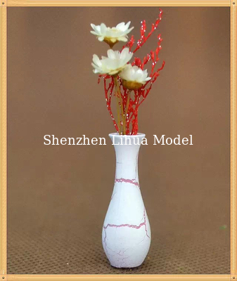China model flower vase,architectural model materials,ABS flower vases,1:20/1:25/1:30 distributor