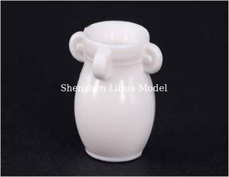 China ABS model flower potted----model scale sculpture,plastic flower pots,model stuffs, mini pot factory