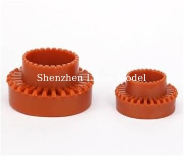 China 1:100 ABS plastic scale round flower bed---model scale sculpture,plastic flower bed,model stuffs factory