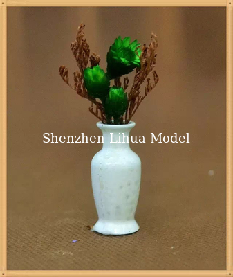 China 1:25model flower vase---model scale sculpture ,architectural model materials,ABS flower vases factory