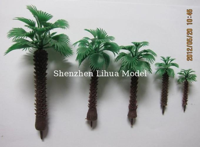 1:200 scale palm artificial tree,miniature scale palm tree,fake mini palm trees,model stuffs,palm trees