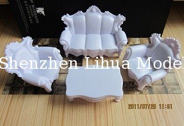 European style sofa,scale model sofa ,model furnitures,architectural model materials