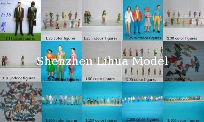 all series color figure--scale figures,model figures,scale people,ABS figures,HO figures,model stuffs