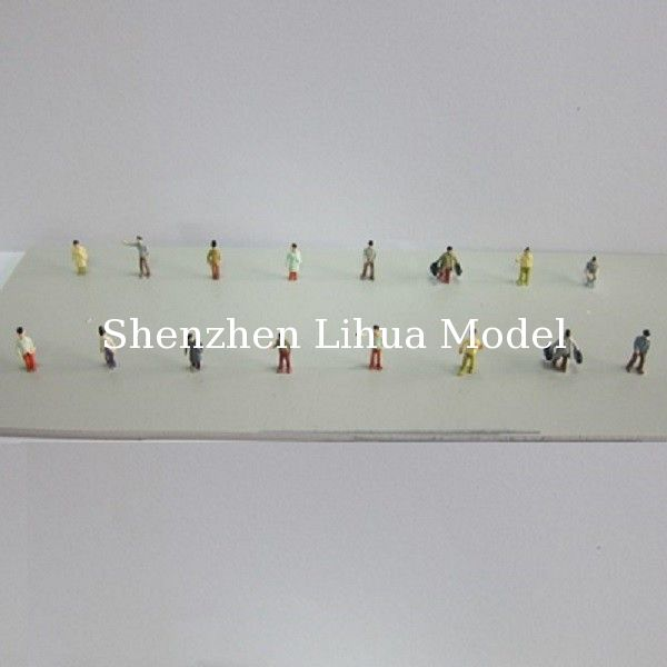 1:200 boutique color figures,color figure,painted figures,scale figures,model figures