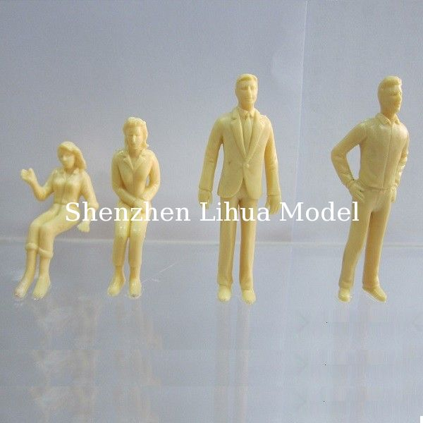 1:25 skin figure,G guage figures,scale figure,architectural model people,scale peoples,white people